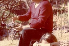 Roberto Freire com grupos de Soma na década de 1970 em Mauá
