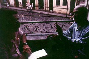 Roberto Freire entrevista Mestre Pastinha para a Revista Realidade, 1967.
