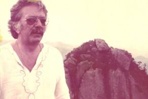 Roberto Freire no alto da Pedra Selada