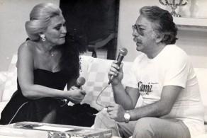 Roberto Freire e Hebe Camargo, 1980