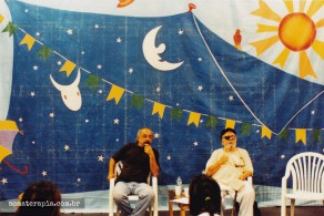 Roberto Freire durante o curso de Pedagogia Libertária