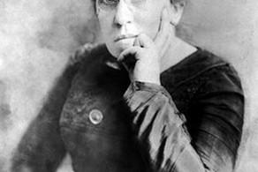 Emma Goldman, anarquista e feminista russa que viveu nos USA.