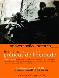 Conversação Cecília Coimbra